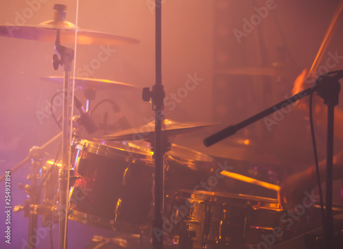Live music photo background - 254937894