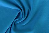 crumpled turquoise fabric
