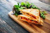 roasted chicken tandoori sauce sandwich