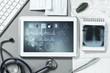 Leinwanddruck Bild - Digital technologies in medicine