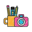 graphic design photographic camera and supplies