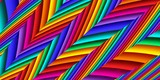 Bright colorful abstract lines for background. Artwork for creative design and art. - 255068442