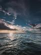 seascape sea horizon and sky. - 255088696
