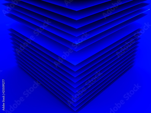 Leinwandbild Motiv abstract geometric background