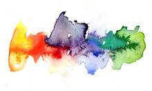 """Постер, картина, фотообои """"Aquarell Farben"""""""