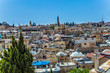 Leinwanddruck Bild -  The roofs of Jerusalem