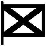 Northen Ireland flag Solid illustration