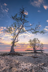 Panorama sunset of wonderful batam bintan Indonesia © Nurwijaya