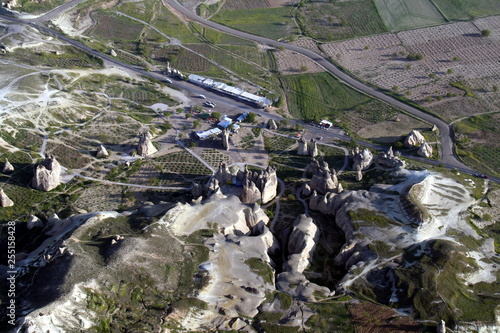 Foto Murales Turquia desde el aire