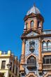 Leinwanddruck Bild - Ornate Building in Seville, Spain