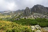 Landscape of Mlynicka Valley. Tatra Mountains. Slovakia.