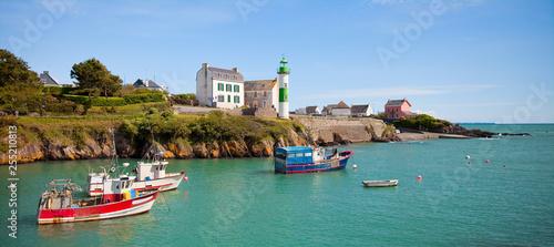 Doëlan, petit port de Bretagne en Finistère sud