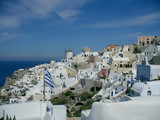 Nice day observing the architecture of Santorini.