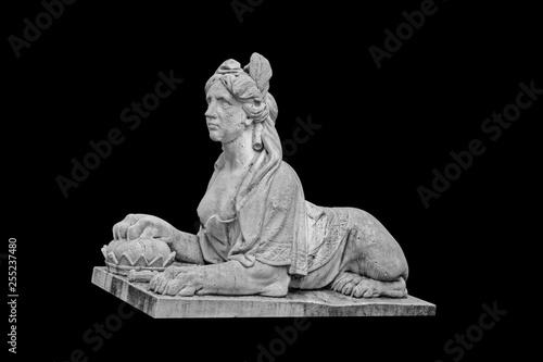 Female lion - Park sculpture.
