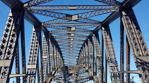 obraz lub plakat Sydney Harbour Bridge Frame Work