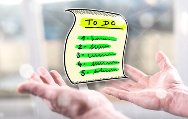 Concept of to do list