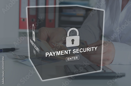 Concept of payment security © thodonal