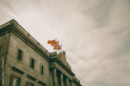 obraz PCV Rathaus von Barcelona
