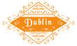 vector Welcome to Dublin - 255369271