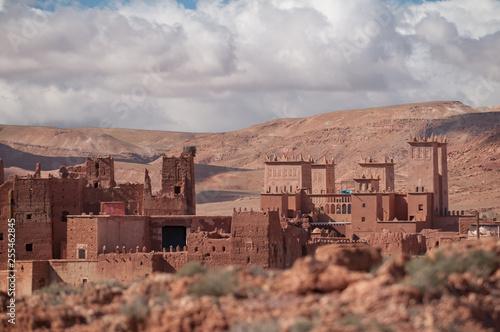 Alte Kasbah in Marokko