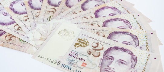 Dollar Singapore for spending