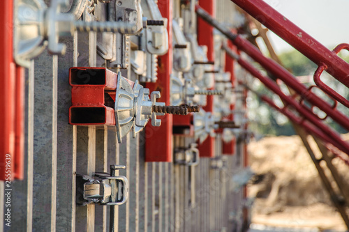 Elements of panel formwork for the construction of the tunnel  | Buy