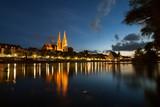 Regensburg zur blauen Stunde