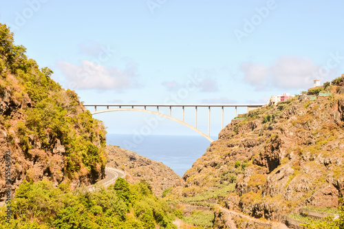 Valley in the Canary Islands - 255545893