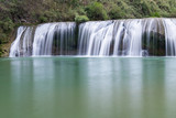 waterfall closeup in yunnan