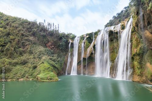 luoping jiulong waterfall