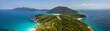 Beautiful panoramic view of Pulau Perhentian Kecil, island in Malaysia