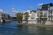 Paris; France - april 2 2017 : Ile Saint Louis