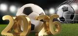 Fototapeta Fototapety sport - soccer ball 2026. 3d-illustration © wetzkaz