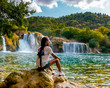 KRKA Waterfalls, krka national park Croatia - 255601224