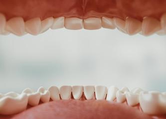 Dental care, 3d rendering
