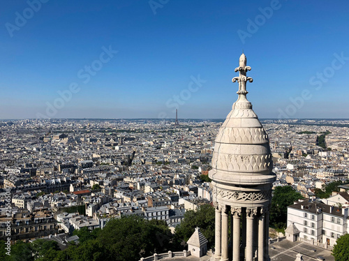 View of Eiffel Tower from Sacre Coeur