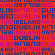 Dublin, Ireland seamless pattern - 255657608