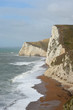 Swyre Head cliffs above Durdle Door on Dorset coast