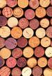 Wine corks background