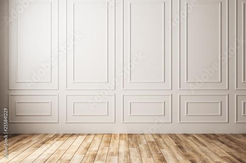 Leinwandbild Motiv Empty classic interior