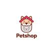 pet shop logo, veterinary clinic
