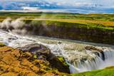 Picturesque multi-colored tundra