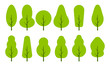 Vector trees set - 255938237