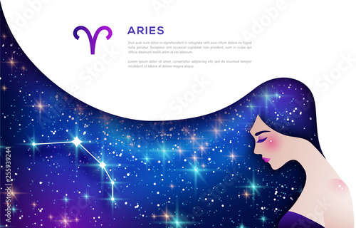 Aries zodiac sign © kotoffei