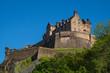 Leinwanddruck Bild - Das Schloss von Edinburgh