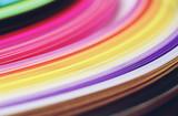 Fototapeta Tęcza - Rainbow paper abstract macro © nanihta