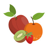 fruits healthy and fresh food