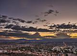 Fototapeta Forest - City of Las Vegas Nevada after sunset © Joshua Resnick