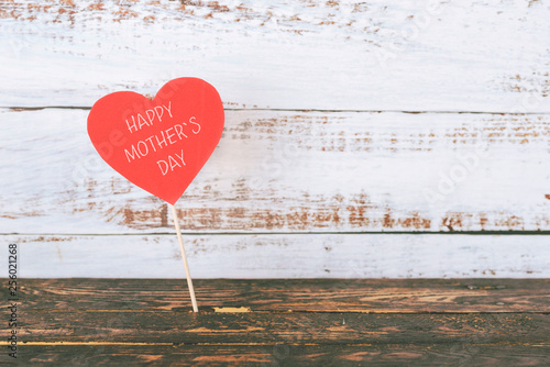 Leinwanddruck Bild happy Mother's Day
