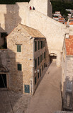 Old stone house in Dubrovnik, Croatia